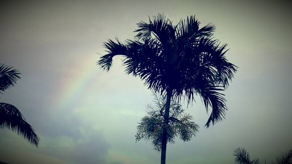 The treasure of the end of the rainbow is really finding where you belong in this great big world